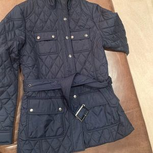 Banana Republic light puffer jacket.